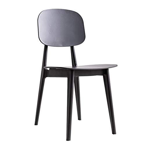 T-T-DENG eenvoudige plastic stoelen, Home Leisure stoel, moderne kunst nagel winkel bureaustoelen, thuis keuken eetstoelen 62x55x80cm