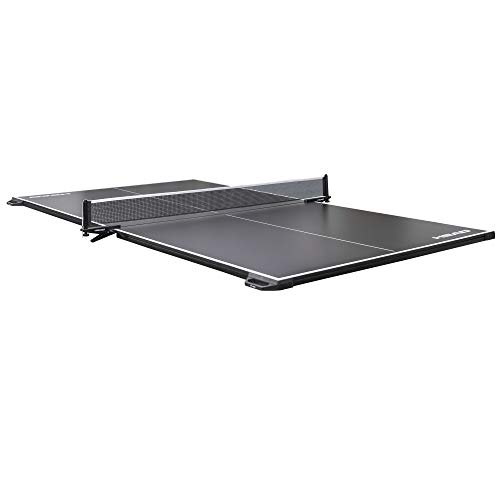HEAD Tournament Size 2-Piece Deluxe Conversion Table Tennis Top, 15mm Surface with Clamp-On Net and Built-in Carry Handles