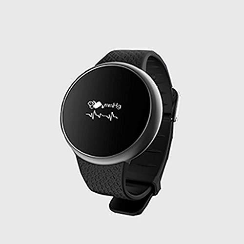 JIAJBG Reloj Elegante Reloj Digital, Reloj Del Perseguidor de la Aptitud con Monitor de Ritmo Cardíaco Ip67 Bluetooth Smartwatch Deportivos Tracker Y Pulsera Inteligente Podómetro,