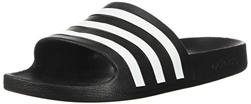 adidas Women's Adilette Aqua, Core Black/White/Core Black, 6