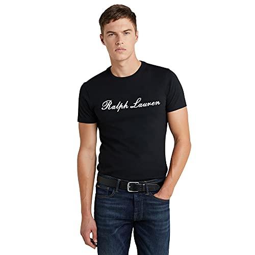 Polo Ralph Lauren T-Shirt Stretch Cotton per Uomo (XXL, Black)