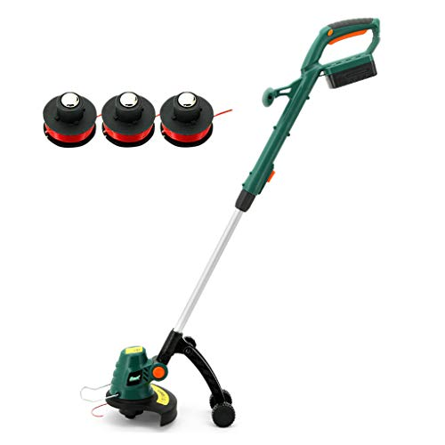 Great Features Of Garden Tools Cordless Grass Trimmer and Edger - Li-Ion 18V - 23cm Cutting Diameter...