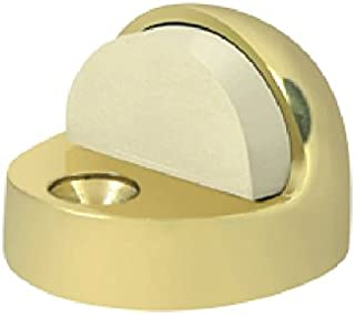 Deltana DSHP916U3 High Profile 9/16-Inch Base Height Solid Brass Dome Stop