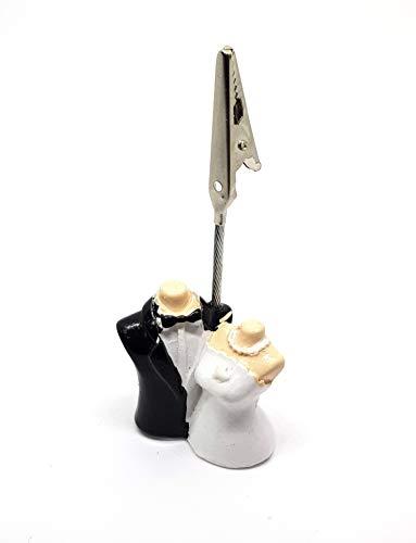 takestop® tafelkaartenset, 12 stuks, voor gastgeschenken, bruid, jurk, 9 cm hoog, voor bruiloft