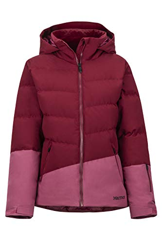Marmot Damen Wm's Slingshot Hardshell Ski- Und Snowboard Jacke, Winddicht, Wasserdicht, Atmungsaktiv, Claret/Dry Rose, XS