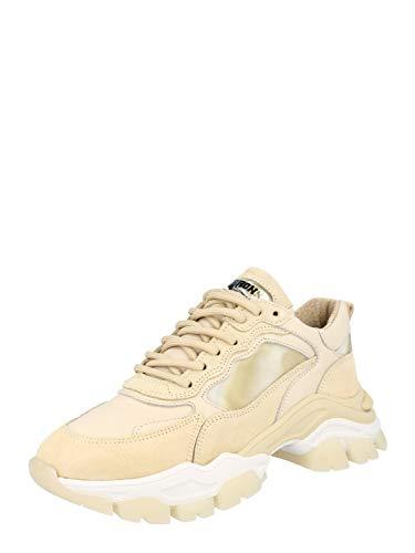 Bronx Damen Sneaker Low TAYKE-Over Hellbraun 39