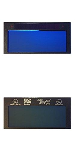 ArcOne SS240 Super Singles 240 Auto-Darkening Filter 2 x 4.25 x 0.25'