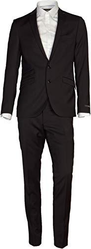 Tiger of Sweden Herren Anzug Nedvin Cool Wool Black 152 / XL