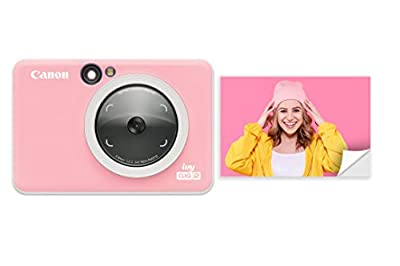 Canon IVY CLIQ 2 Instant Camera Printer, Mini Photo Printer, Petal Pink (Matte)