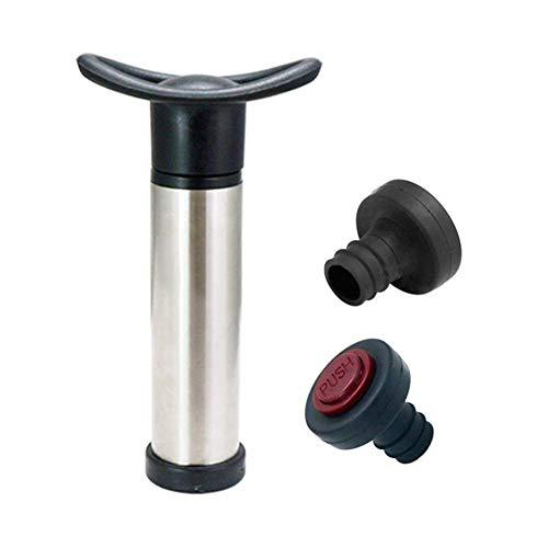 Tammy Yerkes Wiederverwendbare Flasche Vacuum Wine Sealer Preserver Saver Pump + 2 Stopper
