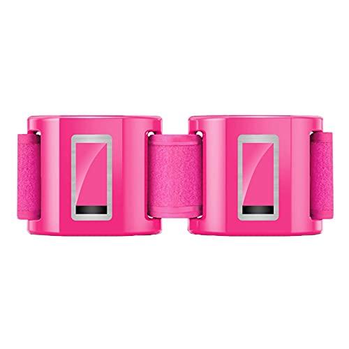 Maquina Plataforma Vibratoria Adelgazante Ejercicio Masaje para Adelgazar Oscilante Profesional Abdominales CinturóN Recargable para MáQuina De EliminacióN Grasa Abdomen Todo El Cuerpo,Pink