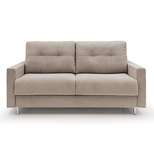 FLUFFY - Sofá cama de matrimonio de tela