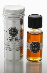 Organic Patchouli Essential Oil (Pogostemon cablin) / Aceite Esencial Orgánico de Pachulí (Pogostemon cablin) (10ml) by NHR Organic Oils