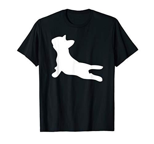 French Bulldog Yoga Pose Funny Yoga Gift For Women T-Shirt