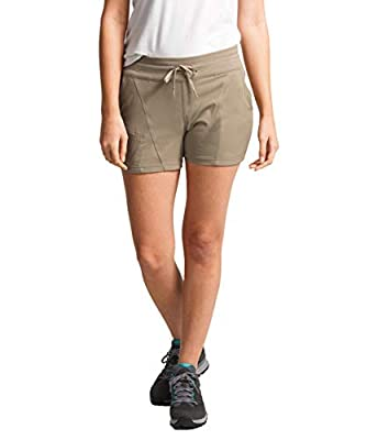 The North Face Women's Aphrodite 2.0 Short, Dune Beige, Small Long
