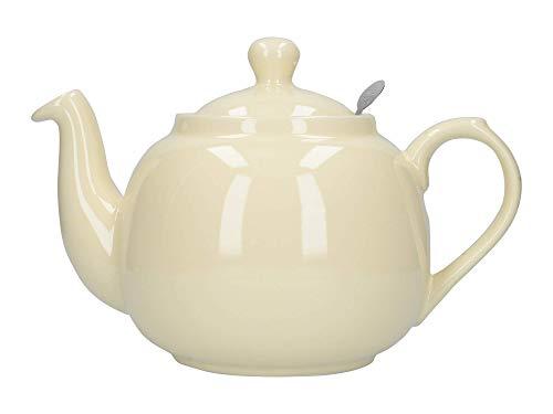 Dexam 17274150 London Pottery - Tetera con Filtro (6 Tazas), Color Crema