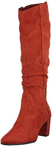 MARCO TOZZI Damen 2-2-25527-33 Hohe Stiefel, Rot (Brick 512), 39 EU