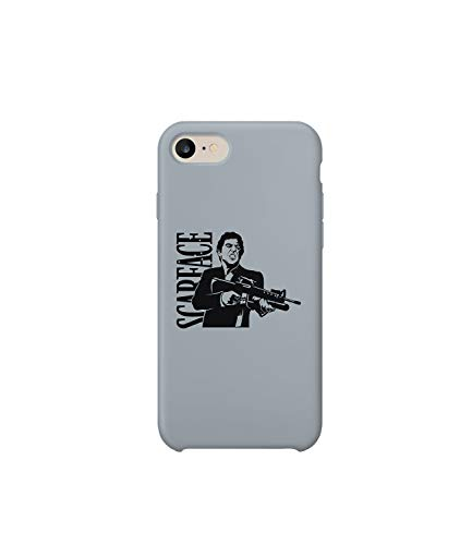 GlamourLab Scarface Hello Automatic Shot_A1215 Case Cover for Compatible with iPhone 6 Protective Hard Plastic Protection