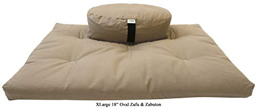 Zafu + Zabuton Meditation Cushion Set