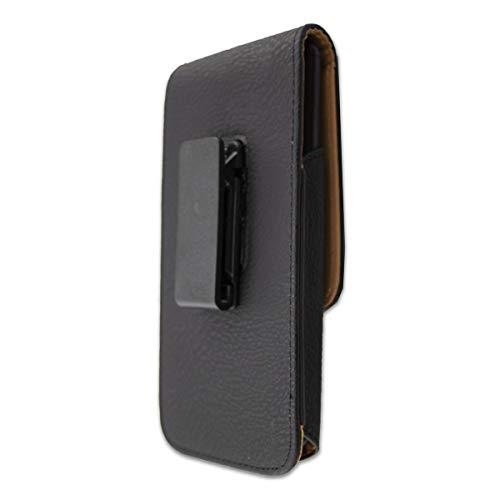 caseroxx Handy Tasche Outdoor Tasche für Energizer Hardcase H240S, mit drehbarem Gürtelclip in schwarz