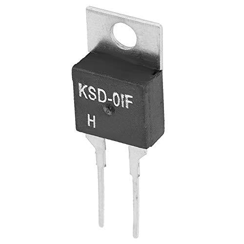 Weikeya Interruptor, Termostato Digital Adecuado Outllet Resistencia de Aislamiento Plástico y Hierro Temperatura Estándar