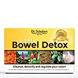 Dr. Schulze's 5-Day Bowel Detox | Promotes Healthy Movements | Packets