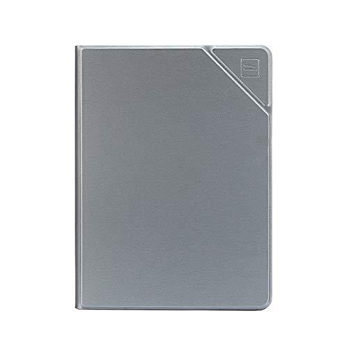 Tucano Carcasa de Metal para iPad 10,2 Pulgadas (2019/2020, 7/8) Air 10,5 Pulgadas, Color Plateado