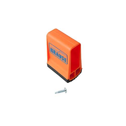Krause Traversenfußkappe orange, Innenmaß 64x25 mm