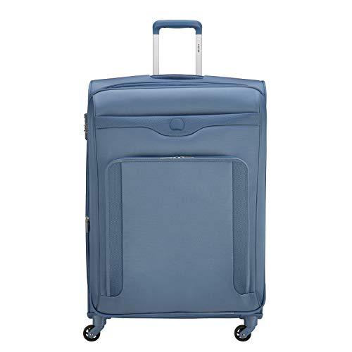 Delsey Baikal Maleta con 4 Ruedas Azul-Gris 78 cm