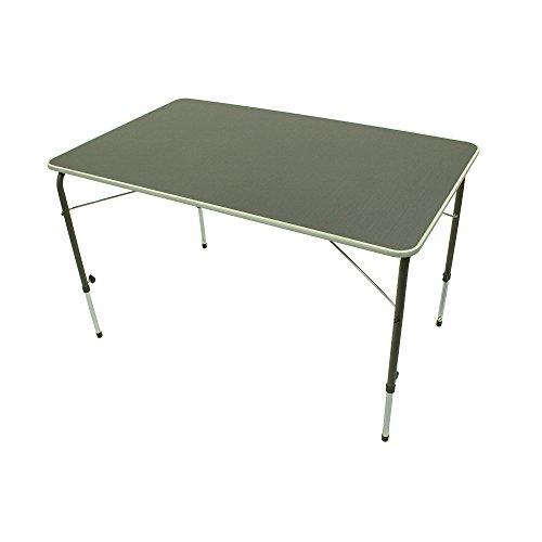 Unbekannt – Portail de Bob XL – Camping Table Pliante 115 x 70 x 50/69 cm, 10 kg et 30 kg de capacité de Charge
