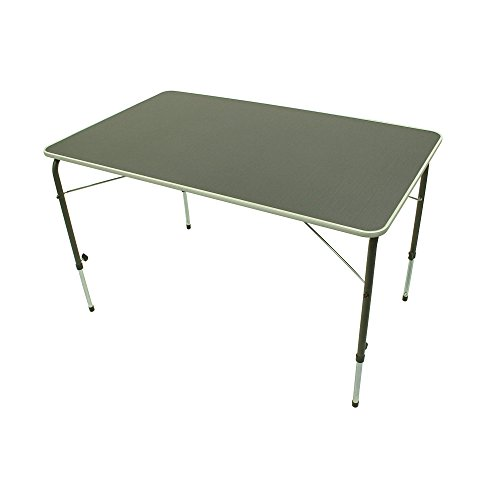 Portal Bob XL campingtafel, 115 x 70 cm, 4-6 man, klaptafel, tuintafel, reistafel, traploos verstelbaar