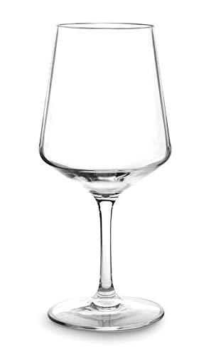 Lacor 63144 - Set de 6 Copas de vino tinto, Tritán libre de BPA, 500 ml