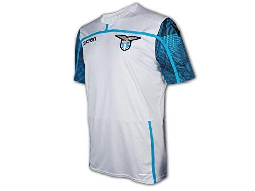 Macron Lazio Rom Training Shirt 18/19 weiß SSL Lazio Fan Jersey Trikot Serie A, Größe:L