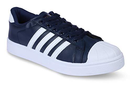 Sparx Men's Blue & White Closed Toe Shoes -8 UK
