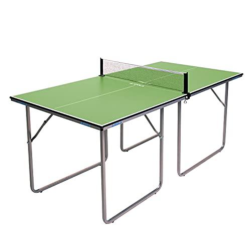 Joola Unisex– Erwachsene Midsize Tischtennisplatte 19115, grün, 168x84x76