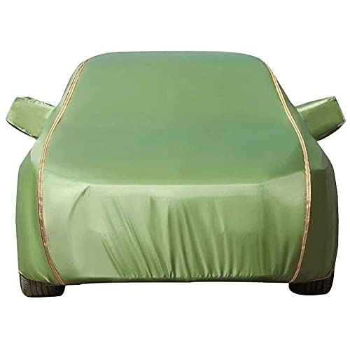 Ronglibai Funda para Coche Exterior Cubierta para Coche Compatible con Toyota Yaris L SAI Allion RAV4 Highlander C-HR Impermeable Transpirable Cubierta De Coche Universal (Color:E,Size: Allion)