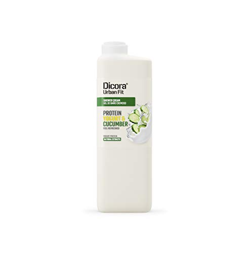 Dicora Urban Fit Gel de Baño Proteins Yogurt & Pepino 750 ml