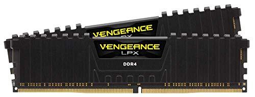 Memoria de Escritorio Corsair Vengeance LPX 16 GB (2 x 8 GB) DDR4 3600 (PC4-28800) C19 1,35 V, Color Negro CMK16GX4M2K3600C19