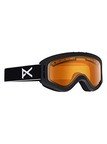Anon Kinder Tracker Snowboardbrille, Black/Amber, One Size