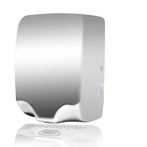 Goetland Stainless Steel Commercial Hand Dryer 224MPH Automatic High Speed Heavy Duty Dull Polished
