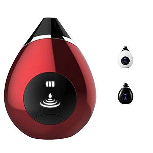 Aspirateur De Dissolvant De Points Noirs, Aspirateur LCD, avec 4 Sondes Fonctionnelles Modifiables, Rechargeable par USB, Outil D'Extraction De Points Noirs à Pores,Rouge
