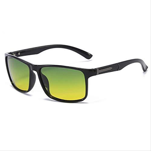 Gafas de sol Gafas de sol Polare hombres cambio de color al aire libre conducción pesca caja negro brillante día y noche tabletas