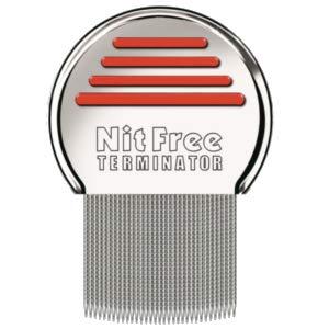 3er Pack Original seit 1998 NitFree Terminator Läusekamm bzw Nissenkamm entfernt sicher Läuse, Eier und Nissen deutsche Version