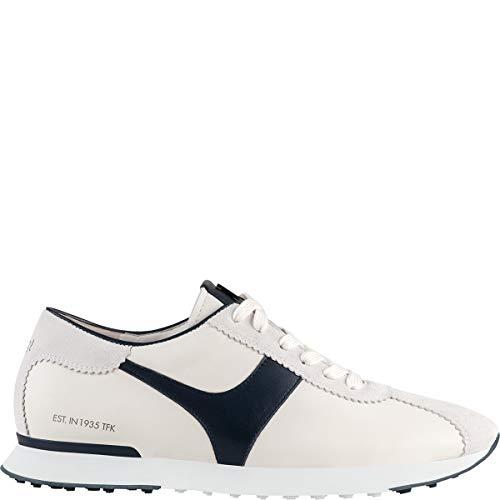 HÖGL Damen Balance Creme/Blue 6 1-102350 Sneaker