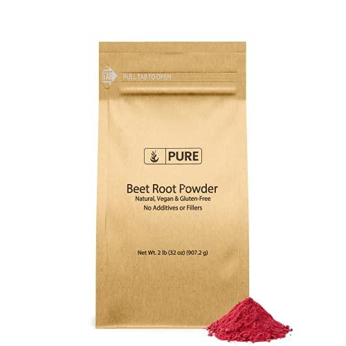 Natural Beet Root Powder, 2lb, 3500 mg Serving, No...