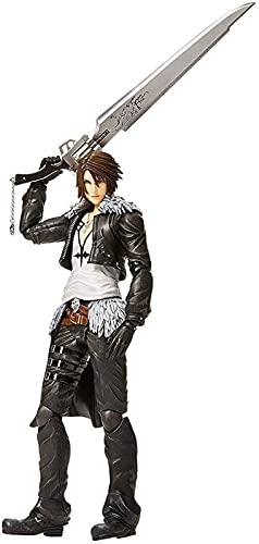 HCCTI Hand-Made Dissidia Final Fantasy Play Kai: Squall Leonhart Action Figure - 11.02 Pollici