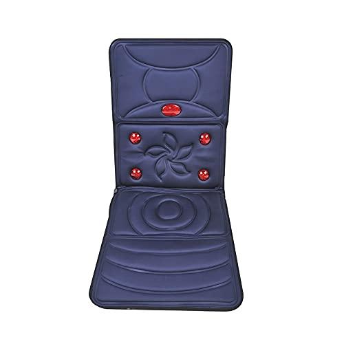 Rrooty Elektrische Massage-Matratze, Ganzkörper-Multifunktionsmassagekissen, Home Zurück Halswirbelsäule Neck Taille SchulterMassager