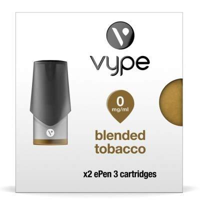 Vype ePen 3 Patronen Mischung Tabak vype 0MG kein Nikotin