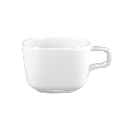 Seltmann Weiden 001.717288 Obere zur Espressotasse eckig 0,09 L No Limits, weiß