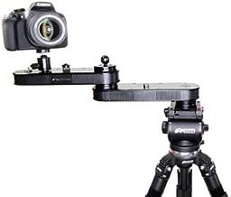 "Digital Juice Twin Action Magic Slyder 11"" Portable Affordable Foldable Aluminium Crane Slider Dolly for DSLR Camera DV Video Camcorder Film Photography"